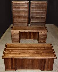 white walnut office furniture. Hand Carved Executive Solid Wood Office Suite White Walnut Furniture I