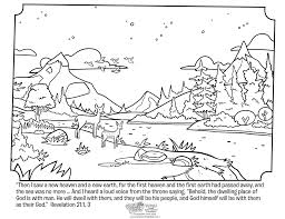 Free printable coloring pages for kids! Revelation 21 Coloring Page Whats In The Bible