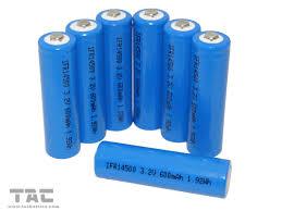 3 2 V Solar Light Batteries Solar Battery Ifr14500 Aa 3 2v 600mah Lifepo4 Battery For