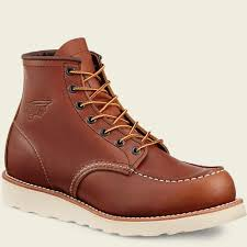 Mens 10875 Traction Tred 6 Inch Boot Red Wing Work Boots