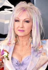 cyndi lauper new hairstyle unique grammys 2018 wildest hair makeup beauty looks