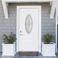 fiberglass doors with glass