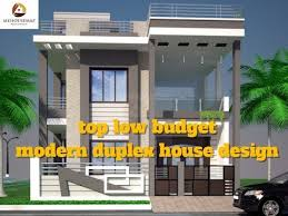 top low budget modern duplex house design best indian home