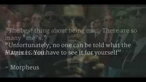 Famous Matrix Quotes