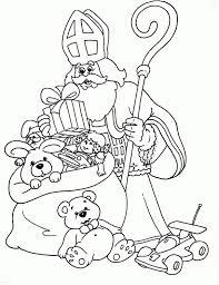 Donald Duck Sinterklaas Kleurplaten