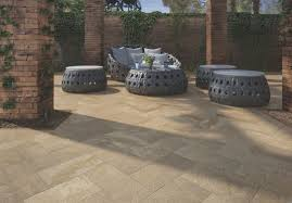 outdoor tile for floors porcelain stoneware embossed gresplus patio