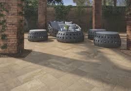 outdoor tile for floors porcelain stoneware embossed gresplus patio