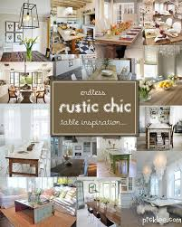 Rustic Chic Dining Table