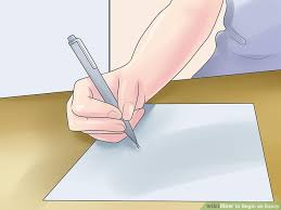 how to begin an essay pictures wikihow image titled 1030832 5