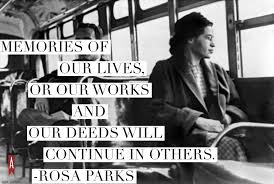 Rosa Parks Quotes Simple HER AGENDA 48 Inspiring Quotes From Rosa Parks