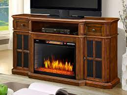 sinclair tv stand in aged cherry 25