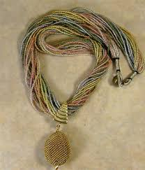 for the woman who wants the perfect necklace for date night than this multi strand necklace with pendant