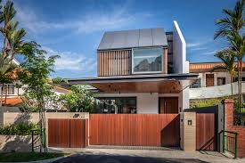 Home Design With Roof Terrace Far Sight House Wallflower Architecture Design Archdaily