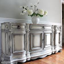silver painted furniture. Silver Painted Furniture Shabby Chic Luxury 25 Best Ideas About Buffet On Pinterest