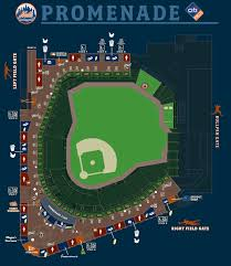 Citi Field Fan Map Promenade New York Mets