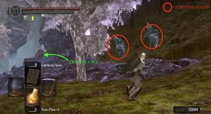 crystal cave dark souls wiki