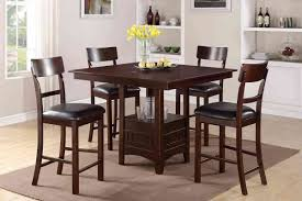 Tall Square Kitchen Table Set Tall Dining Room Table Chairs With 9pc Square Counter Height 8