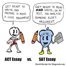act vs sat ultimate guide to choosing the right test act essay vs sat essay