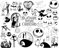 Download link for zip file is out: Nightmare Before Christmas Svg Nightmare Svg Christmas Svg Etsy Nightmare Before Christmas Drawings Nightmare Before Christmas Tattoo Christmas Tattoo