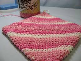 Double Thick Crochet Potholder Pattern Adorable Double Thick Crochet Hot Pads I'm Making Some Of These With The