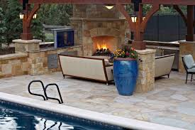 Backyard Designs With Pool And Outdoor Kitchen - Outdoor kitchen designs with pool