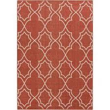 anderson cherry 6 ft x 9 ft indoor outdoor area rug