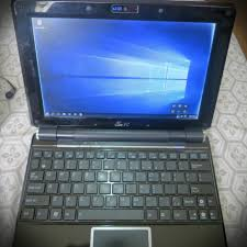 s eee pc 1000he netbook with windows