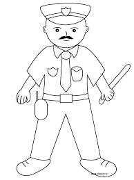 Police Coloring Pages Coloring Pages To Print Color Printing 3