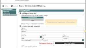 nys dmv change address form mv 232 change driver license or id address youtube
