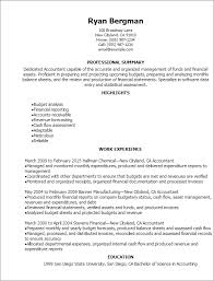 Best Accountant Resume Format Resume Template Accounting Accountant