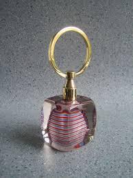 murano glass door stop with brass