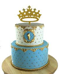 Amazoncom Usa Sales Prince Crown Cake Topper Boy Birthday King