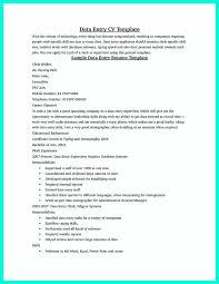 Data Entry Resume Resume Cv Cover Letter