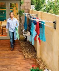 outside clothes hanger outdoor clothesline ideas urban clothes