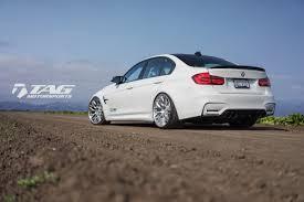 BMW 5 Series bmw m3 in white : Alpine White BMW M3 with HRE RC100 Custom Wheels