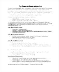 Do You Need Objective On Resume Objective For Resume Samples