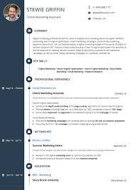 Resume Template Signature Timeline By Hiration