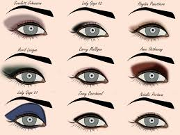 eye shadow styles template free