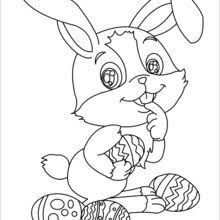 Small Picture EASTER BUNNY coloring pages 35 online bunnies coloring