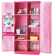 Barbie Kitchen Furniture Barbie Glam Refrigerator Stay In Place Pieces Cake Eggs Milk