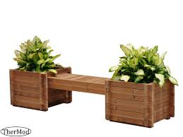 h as small wooden planter boxes