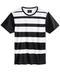 black leather t shirt mens