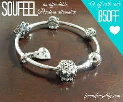 How To Design Your Pandora Bracelet Soufeel The Affordable Pandora Alternative Femme Frugality
