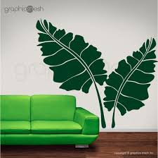 leaves surface vinyl graphics