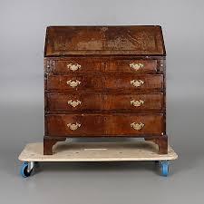 a george iii mahogany bureau furniture cupboards shelves auctionet