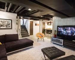 Semi Finished Basement Ideas  Ksknus - Finished basement ceiling ideas