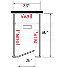 Accurate Partition Free Standing Stalls In Steel