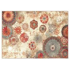 mohawk medallion rug get ations a home indoor outdoor nylon multi colored majestic medallions