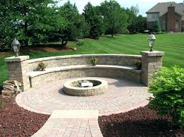 how to build a round brick fire pit circular brick fire pit inspiration for backyard designs