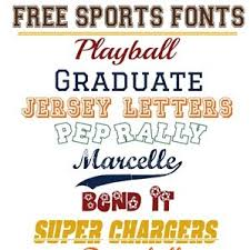 Free Sports Fonts Free Sports Fonts T Shirt Factory